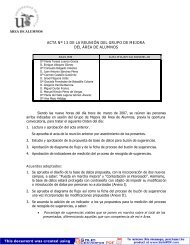 Acta 13 - Universidad de Sevilla