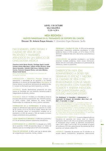 Libro de Comunicaciones - Sociedad Española de Oncología Médica