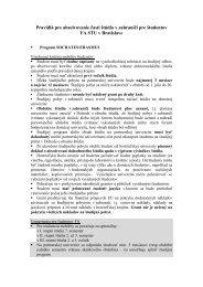 Pravidlá pre absolvovanie časti štúdia v zahraničí pre študentov FA ...