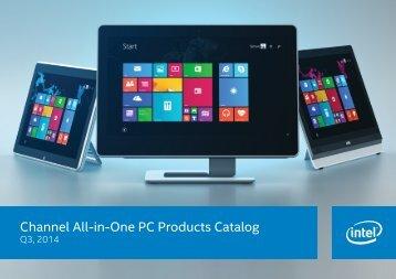 Thin Mini-ITX Catalog Updated Incl. Win 8 v9.5 - Intel