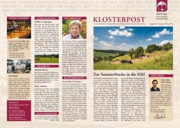 Klosterpost - Hotel Augustiner Kloster