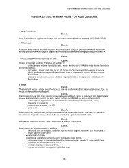 Pravilnik za cross terenskih vozila / Off Road Cross (A05) - bihamk