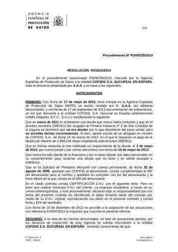 PS-00235-2014_Resolucion-de-fecha-04-09-2014_Art-ii-culo-6.1-LOPD