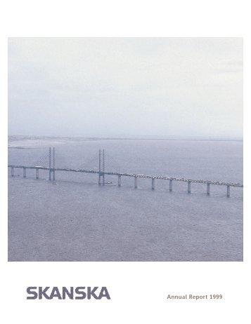 Annual Report 1999 - Skanska