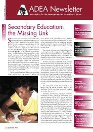 Newsletter Vol.16 No.3 - ADEA