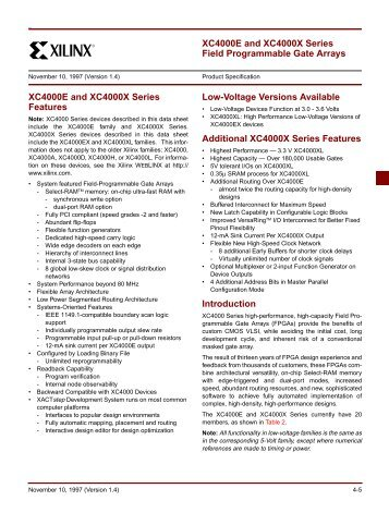 Xilinx 4000-series FPGAs