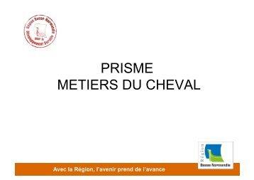 PRISME METIERS DU CHEVAL - Informetiers