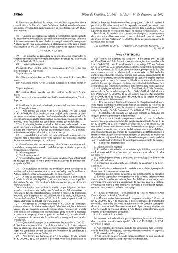 Aviso n.º 16756/2012 - Utad