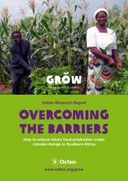 Overcoming the Barriers: How to ensure future food production ...