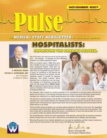 hospitalists - Waterbury Hospital