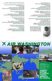 Air Washington Brochure - Aerospace & Advanced Materials ...