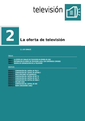 2 La oferta de televisión - anuariossgae.com