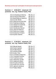 Komisia č. 1 20.06.2011 miestnosť: 314 predseda: doc. Ing. Vladimír ...