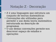 Notação Z - Decoração