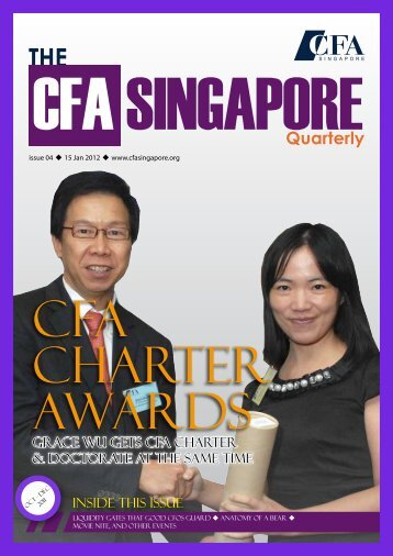 Quarterly - local CFA Societies