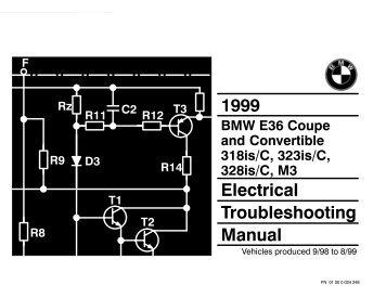 1999 Electrical Troubleshooting Manual - Wedophones.com ...