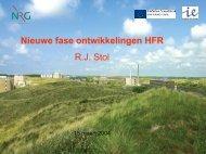 Nieuwe Fase ontwikkelingen HFR (tbv ... - Laka.org