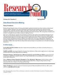 Data-Based Decision-Making - National Association of Elementary ...