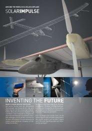 INVENTING THE FUTURE - Solar Impulse