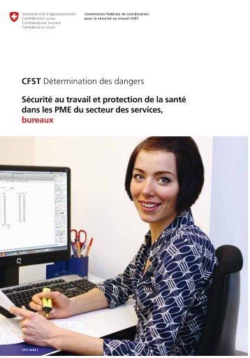 CFST Détermination des dangers Sécurité au travail et protection de ...