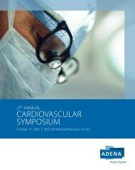 CARdIOVASCULAR SYMPOSIUM - PACCAR Medical Education ...