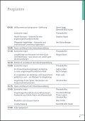 Programm 22. Pflegesymposium - Schweizer Paraplegiker-Gruppe - Page 5