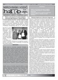 MIROVINSKI VODIC prilog HUL-u - Hrvatski zavod za mirovinsko ...