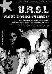 UNS REICHTS SCHON LANGE! - Free Web