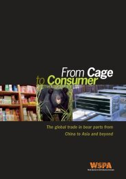 From Cage to Consumer Part 1 - World Society for the Protection of ...