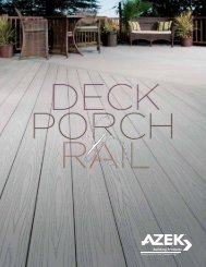 Download the Azek Decking brochure - Zephyr Thomas Home ...