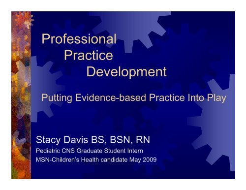 EVP presentation - Arkansas Coordinated School Health Program