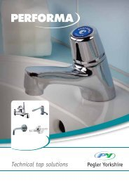 Performa Technical Tap Solutions - Pegler Yorkshire