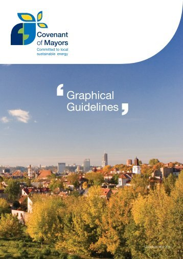 Covenant of Mayors Graphic Guidelines This comprehensive guide