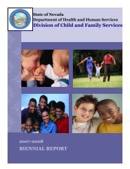 2007 -08 Biennial Report - Division of Child and Family Services