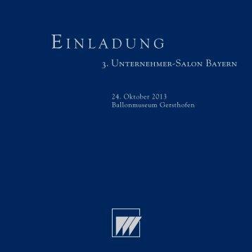 W&P-Einl. 3.USalon BY.indd - Dr. Wieselhuber & Partner GmbH ...