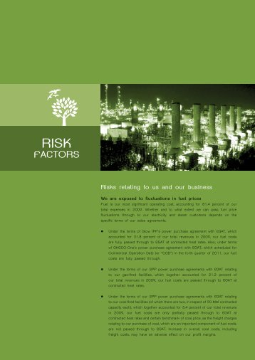 FACTORS - Investor Relations