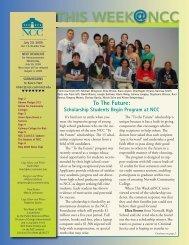 THIS WEEK NCC - Norwalk Community College