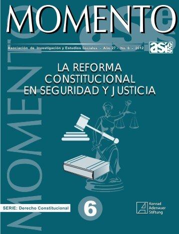 Momento 6-2012 - Asociación de Investigación y Estudios Sociales