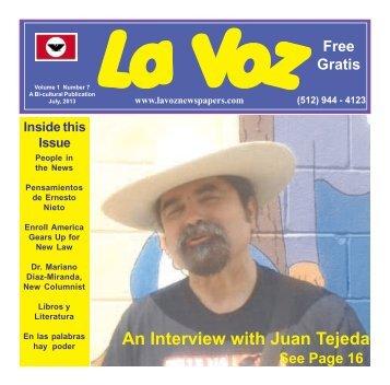 La Voz de Guadalupe County 2013 inter.pmd - La Voz Newspapers