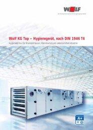 Prospekt Hygienegerät KG-KGW-Top