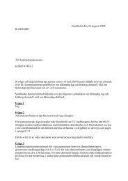 Grönböcker om tilllämplig lag och behörig domstol i mål om ...