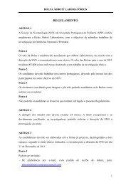 Bolsas para Investigação - Secção de Neonatologia SPP - Home