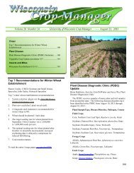 Wisconsin Crop Manager 24, 8-22-13, with extras - Integrated Pest ...