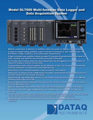 to view the full data sheet - DATAQ Instruments