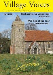 April - villagevoices.org.uk