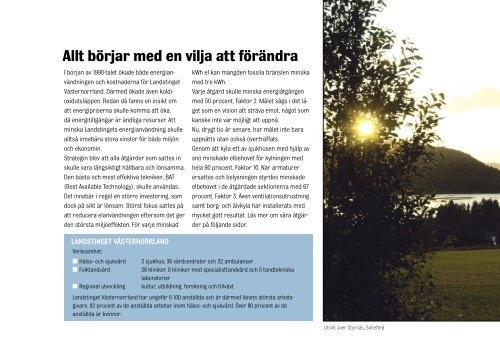 Landstinget 12 sidor_svensk.indd - Landstinget Västernorrland
