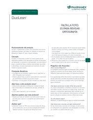 product info. template - Nu Skin