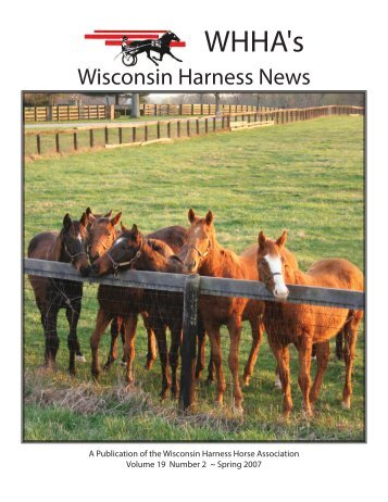 May 2007 - Wisconsin Harness Horse Association
