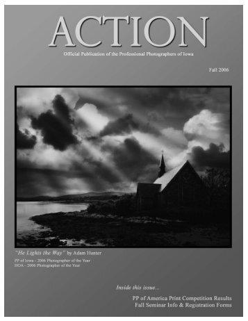 Fall 2006 - Professional Photographers of Iowa