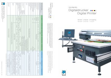 Digitaldrucker Digital Printer - Stiefelmayer-Contento
